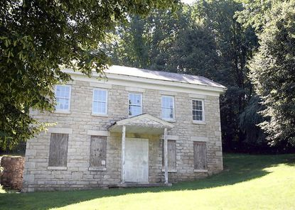 "The old Pest House in Cockeysville has been named as an ""endangered"" historical site. The 1872 house was originally built to house the poor with communicable diseases."
