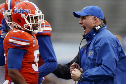 D.J. Durkin with Florida in January 2015.