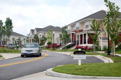 Uplands is a mixed-income development in Southwest Baltimore.