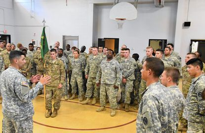 Renovated and expanded National Guard facility opens in Westminster