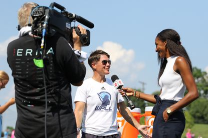 Michelle DeJuliis, the founder of the Women?s Professional Lacrosse League, is interviewed.