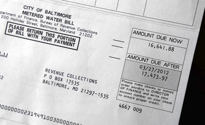 Tom and Amy Geddes, who live in Mount Washington, received an outrageous water bill for $17,000, claiming they used 2.2 million gallons of water in their home last quarter.