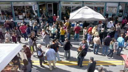 Main Street was packed with folks attending the the Sykesville Craft Beer Festival in 2017. This year's event is set for Saturday, Nov. 10.