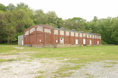 The historic facility known as the Apple Butter Warehouse, located across the Patapsco River on the grounds of South Branch Park in Howard County, could host Sykesville's first makerspace.