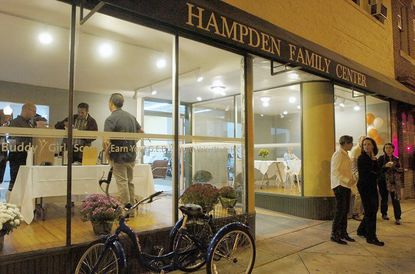 Last year's A Taste of Hampden, seen here, raised $9,000 for the Hampden Family Center. This year's goal is $10,000, organizers say.