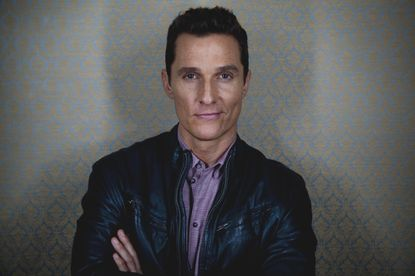 Matthew McConaughey maps his route to stardom