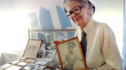 """A scene from the documentary """"Elaine Stritch: Shoot Me."""""""