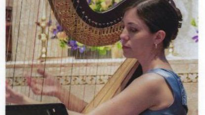 Harpist Jacquelin Pollauf will perform on March 17 with Columbia Pro Cantare.