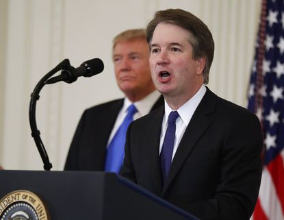 A look at Brett Kavanaugh's opinions on guns, abortion and the environment