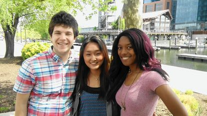 The film script by Johns Hopkins University students Zack Schlosberg, Ellie Park and Kat Lewis was part of a lab where they sought the advice of professional Hollywood filmmakers.