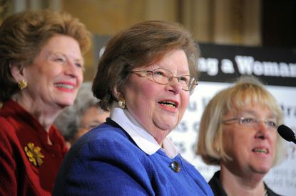 U.S. Sen. Barbara Mikulski will be part of a confirmation hearing today that's likely to focus on drones, leaks and untried citizens' right to life.
