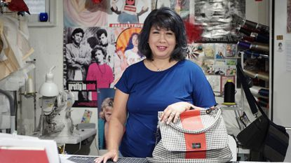 From a Laurel home, Yeobo Bags make upcycled handbags stylish