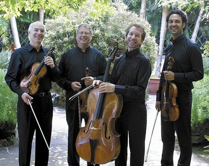 The Fine Arts Quartet will perform for a Candlelight Concerts program on Saturday, Jan. 11, at 8 p.m. in Howard Community College's Smith Theatre.
