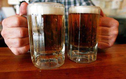 Colleges are encouraging parents to talk to their kids about excessive drinking.