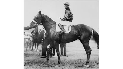 In 1919, Maryland-trained Sir Barton became first Triple Crown winner
