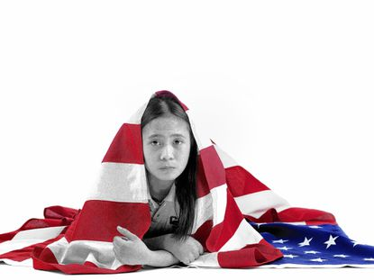 City Springs student Kaye Marie Lumayog, 12, photographed by Sheila Pree Bright.