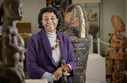 Doris Ligon is the co-founder and director of the African Art Museum of Maryland, located in the Maple Lawn development in Fulton.