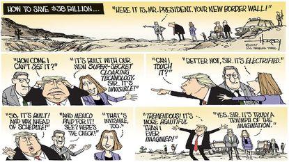 Horsey: Trump should claim victory on the border, abandon his foolish wall