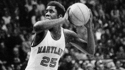 Ernie Graham, shown in 1978, left Maryland as the school's fourth-leading scorer with 1,607 points.