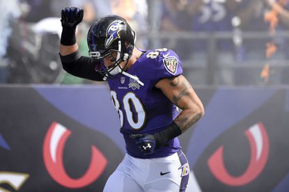 Crockett Gillmore one of four Ravens to be ruled out of Steelers game