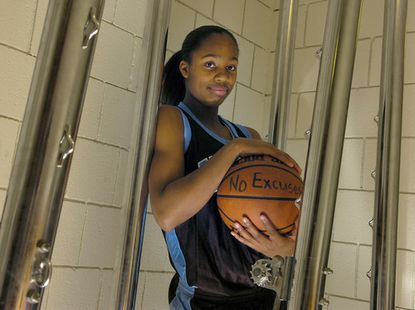 Digital Harbor basketball player Asia Logan is the girls Athlete of the Week.