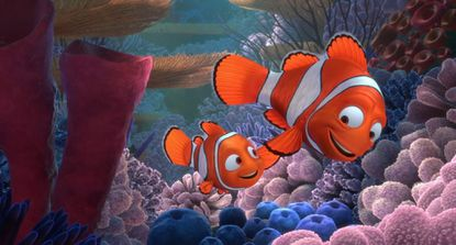 """Marlin risks his life countless times to protect his son in """" Finding Nemo,"""" which will be shown Friday evening, June 12, in Bel Air's Shamrock Park to kick off the summer movies series."""