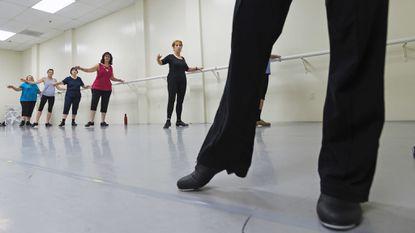 In Howard County, tap dancing classes aren't just for kids