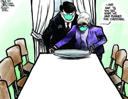 Stantis cartoon