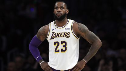 Lakers' LeBron James cleared for more on-court work but will sit out next three games