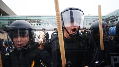 Police Union: To make rioters look like 'the aggressors,' cops were told to endure bricks