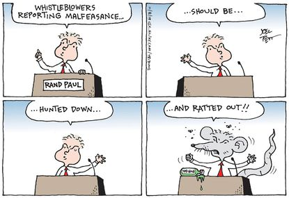 Ratting out whistleblowers
