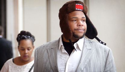 Terrence Cody takes stand in own defense; animal cruelty trial to continue Monday