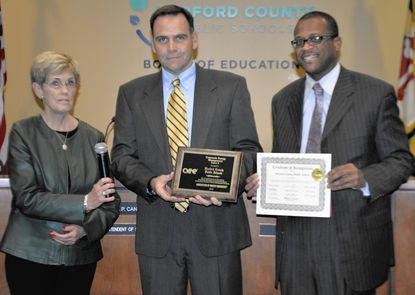 Harford schools honored for energy conservation efforts