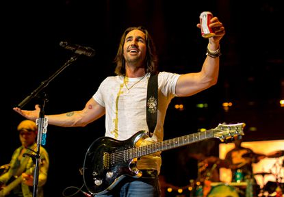 Jake Owen, shown here performing in Los Angeles earlier this summer, will perform twice at Merriweather Post Pavilion.