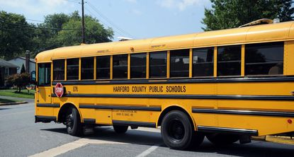 Months after legislation was approved to install exterior cameras on Harford County school buses, the program hasn't got off the ground, as the sheriff, who was not in office at the time, wants to evaluate cost, technology and other aspects.