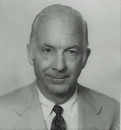 Russell Ward, noted radio journalist, lived in Edgewater after his retirement.
