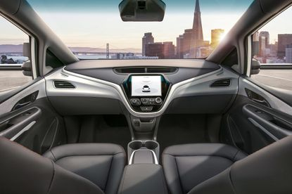General Motors plans to launch the Cruise AV as the first mass-production car without a steering wheel. GM's Cruise Automation unit has announced plans to carry passengers in self-driving cars that won't have a backup driver or steering wheel or paddles in 2019.