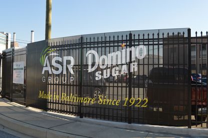 Domino Sugar announced Monday that it has finished upgrades to its Locust Point plant, including new fencing and signage on the property.