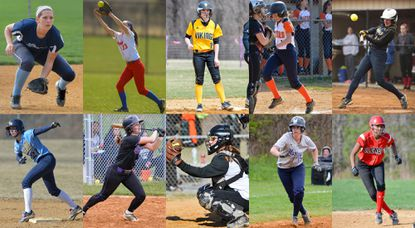 Howard County softball players that could potentially be featured in an upcoming Howard County Times Q&A.