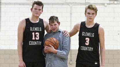 Paar brothers share love for Glenelg Country boys basketball