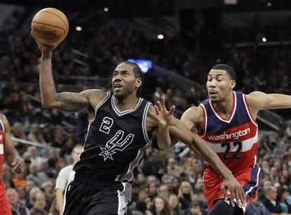 Digest: Leonard's late basket lifts Spurs over Wizards, 107-105