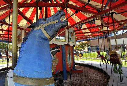Inner Harbor carousel