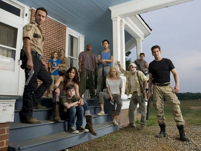 "The cast of ""The Waking Dead"""