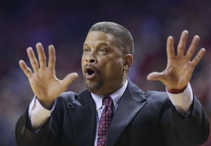 Eddie Jordan has coached at just about every level and is trying to keep Rutgers headed in the right direction after an upset win over Wisconsin on Sunday.