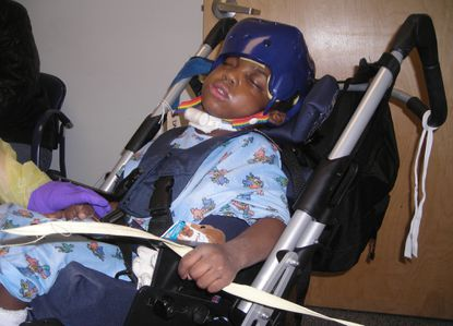 Damaud Martin, who died at age 10 at a group home for disabled foster children. Photo taken in 2008.