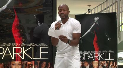 """Quinten White performing """"Celebrate"""" for the """"Sparkle"""" Singing Challenge"""