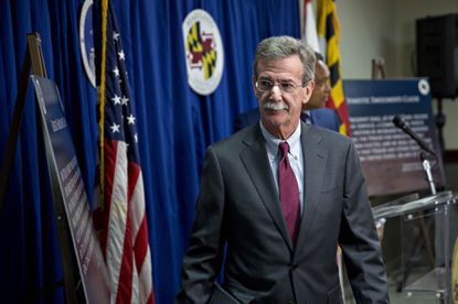 Brian Frosh, Maryland attorney general, after a news conference in Washington, D.C., on June 12, 2017.