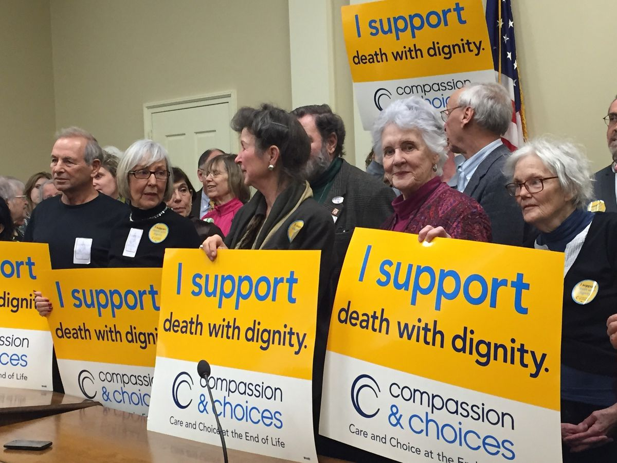 Death with Dignity' advocates rally in Annapolis - Baltimore Sun