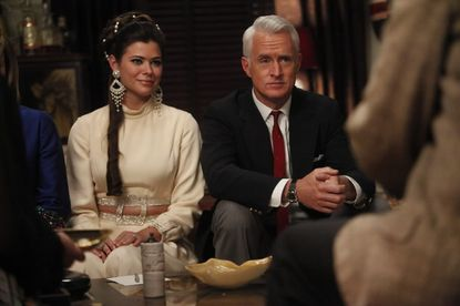 """Peyton List (left) recently appeared on several episodes of """"Mad Men."""""""