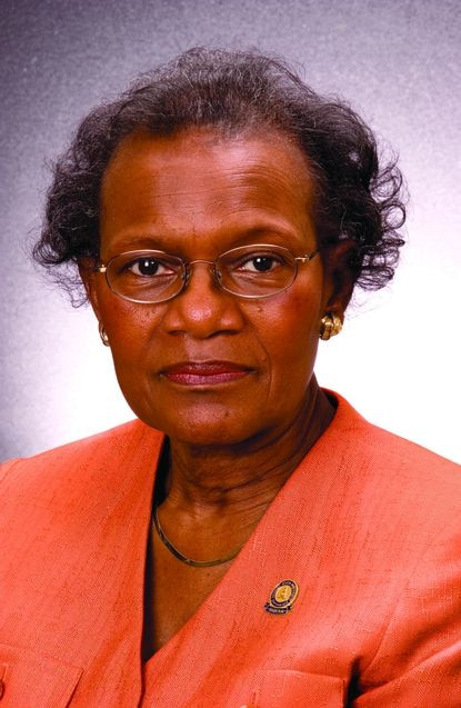 Dr. Clara I. Adams was Morgan State's vice president for academic affairs.